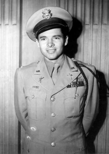 Audie Murphy Comes Home! (courtesy of the Audie Murphy Research Foundation)